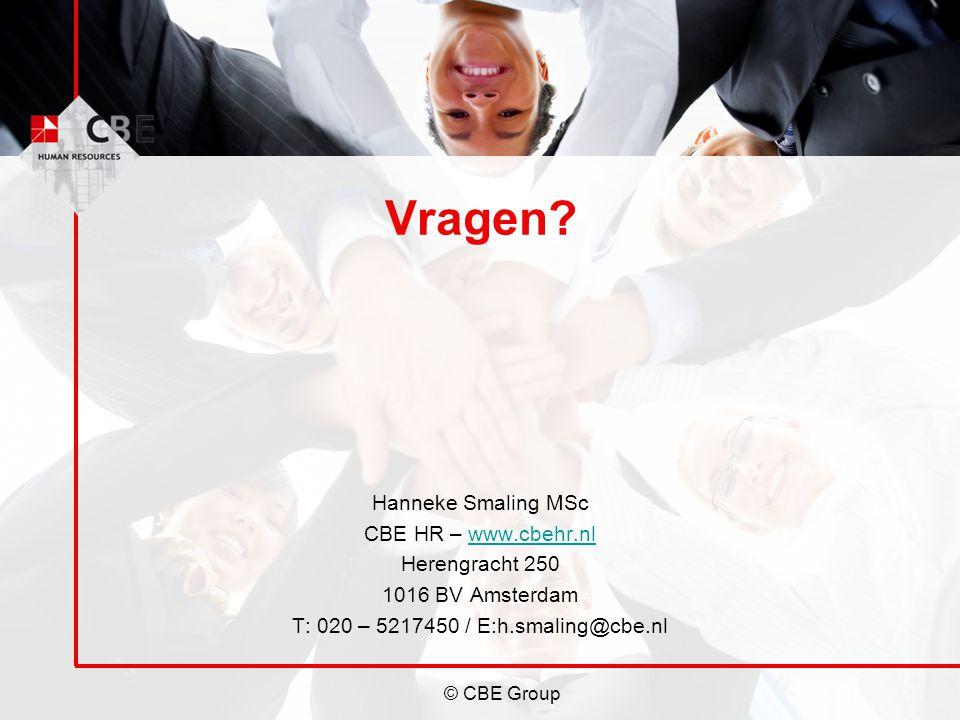 T: 020 – 5217450 / E:h.smaling@cbe.nl