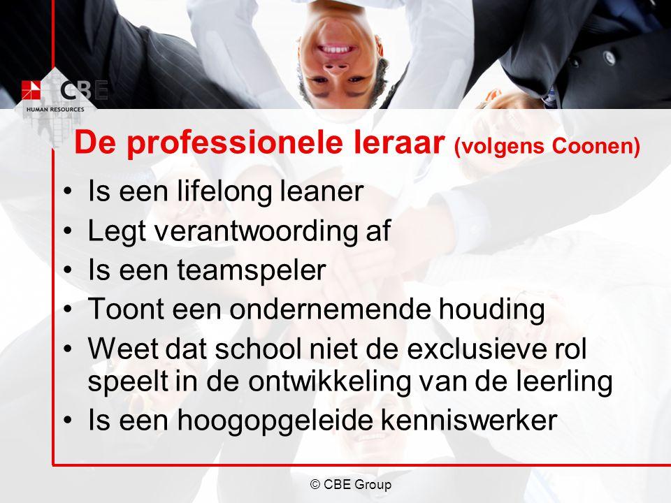 De professionele leraar (volgens Coonen)