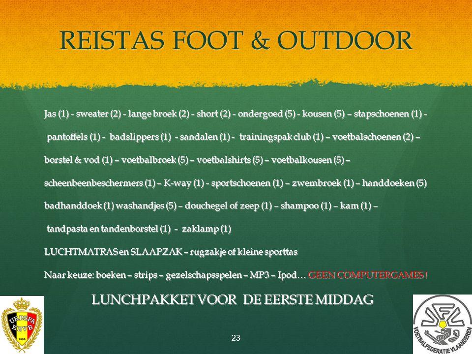 REISTAS FOOT & OUTDOOR