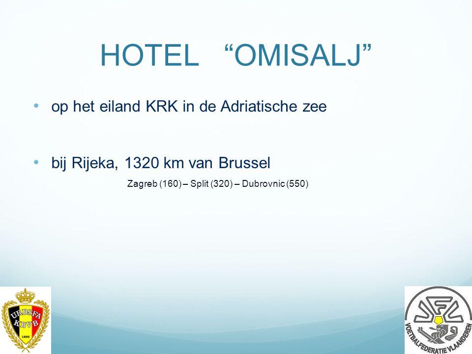 HOTEL OMISALJ op het eiland KRK in de Adriatische zee