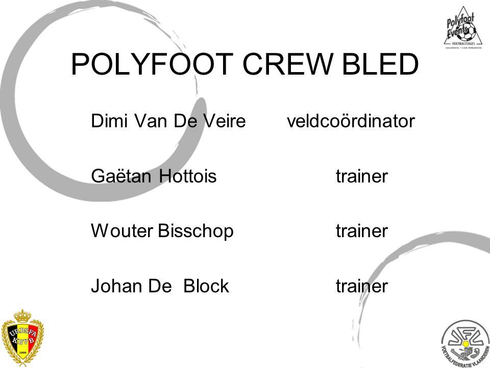 POLYFOOT CREW BLED Dimi Van De Veire veldcoördinator