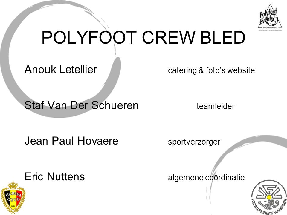 POLYFOOT CREW BLED Anouk Letellier catering & foto's website