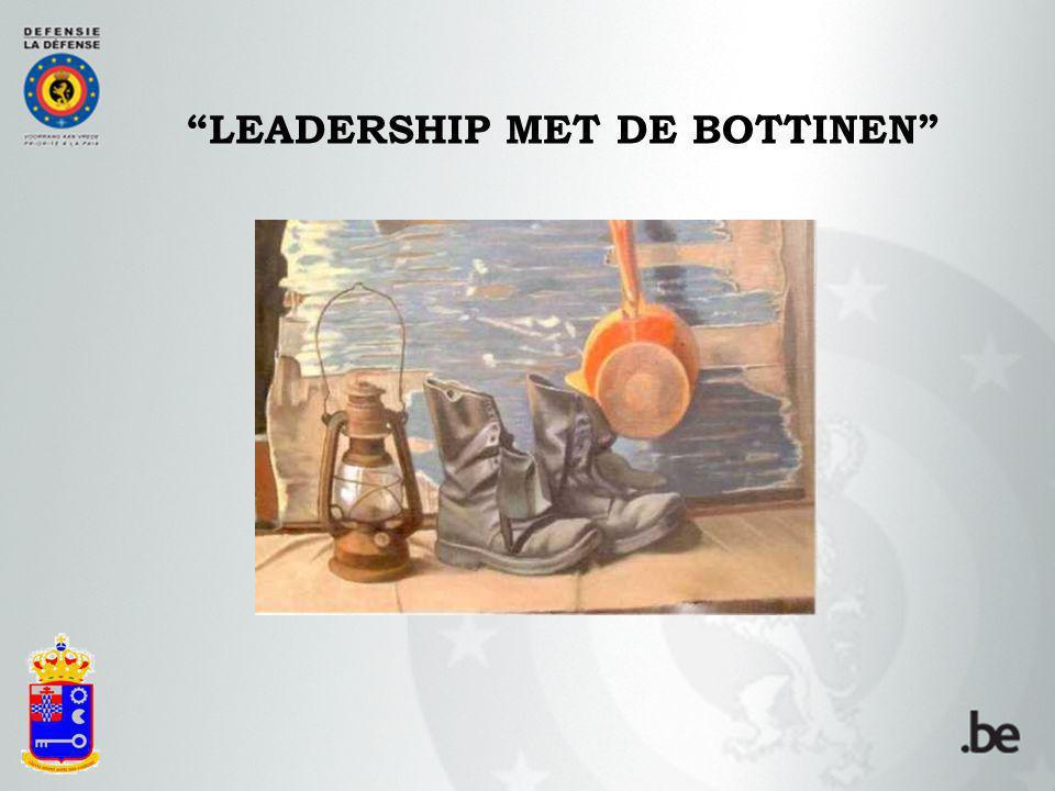 LEADERSHIP MET DE BOTTINEN