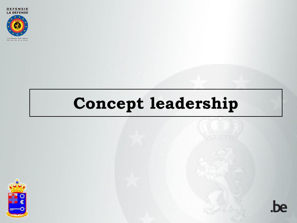 Concept leadership