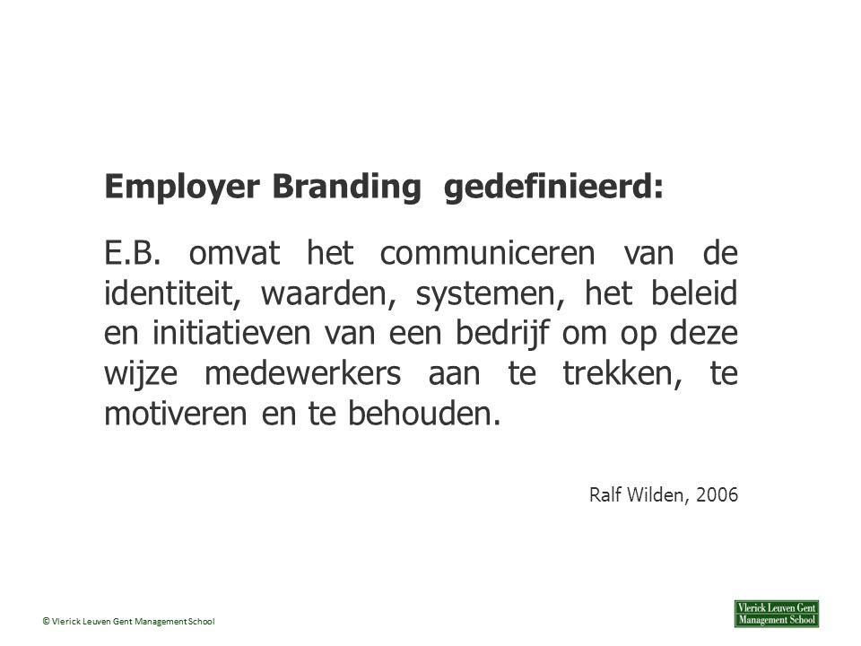 Employer Branding gedefinieerd:
