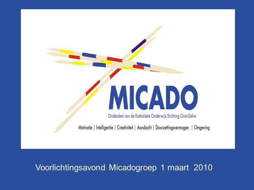 Voorlichtingsavond Micadogroep 1 maart 2010