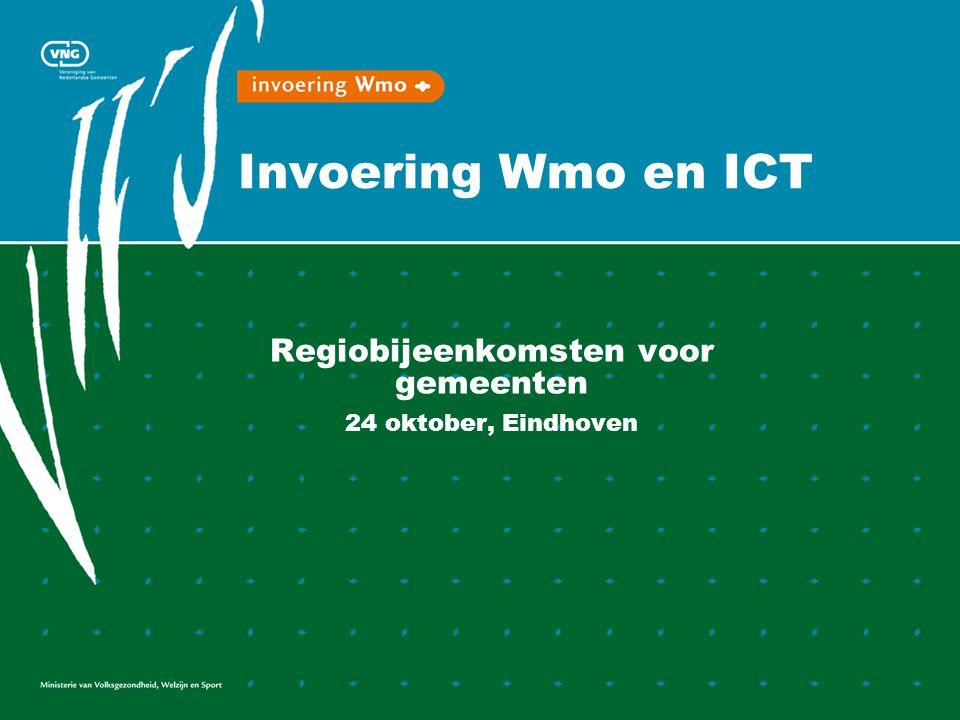 Regiobijeenkomsten voor gemeenten 24 oktober, Eindhoven