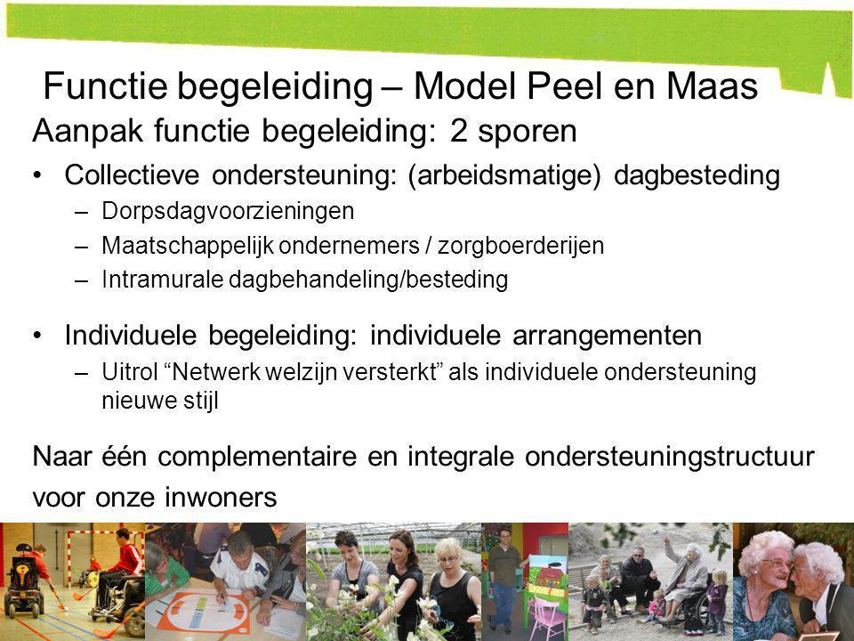 Functie begeleiding – Model Peel en Maas