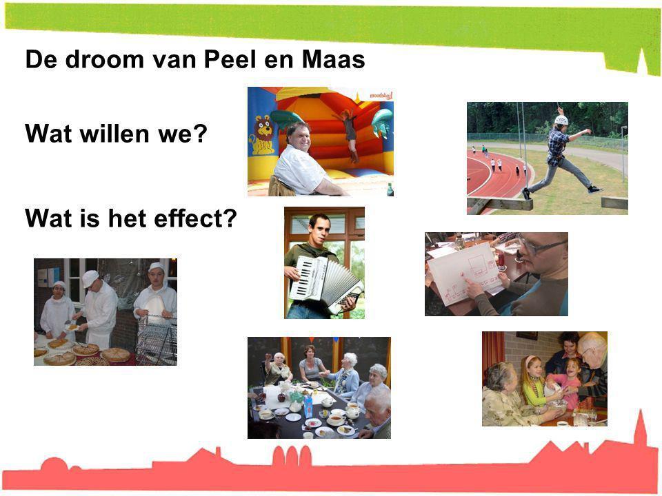 De droom van Peel en Maas Wat willen we
