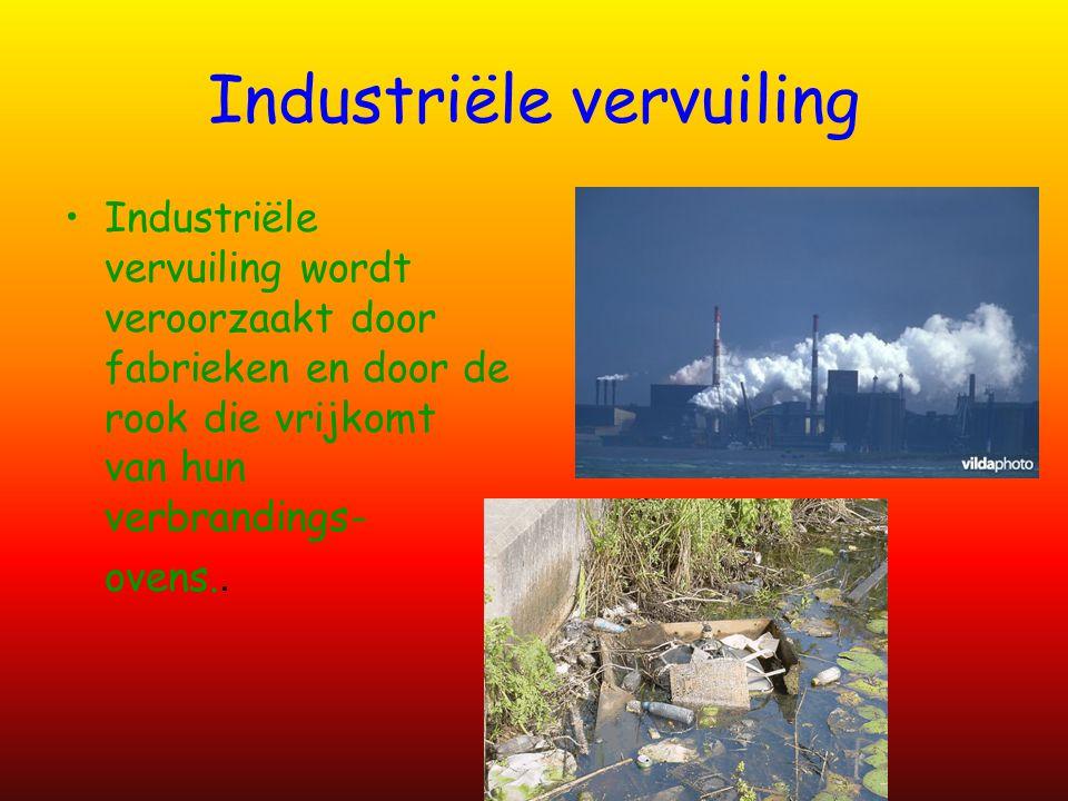 Industriële vervuiling