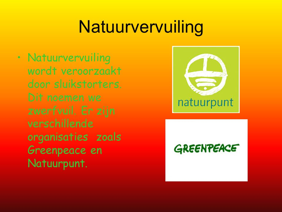 Natuurvervuiling