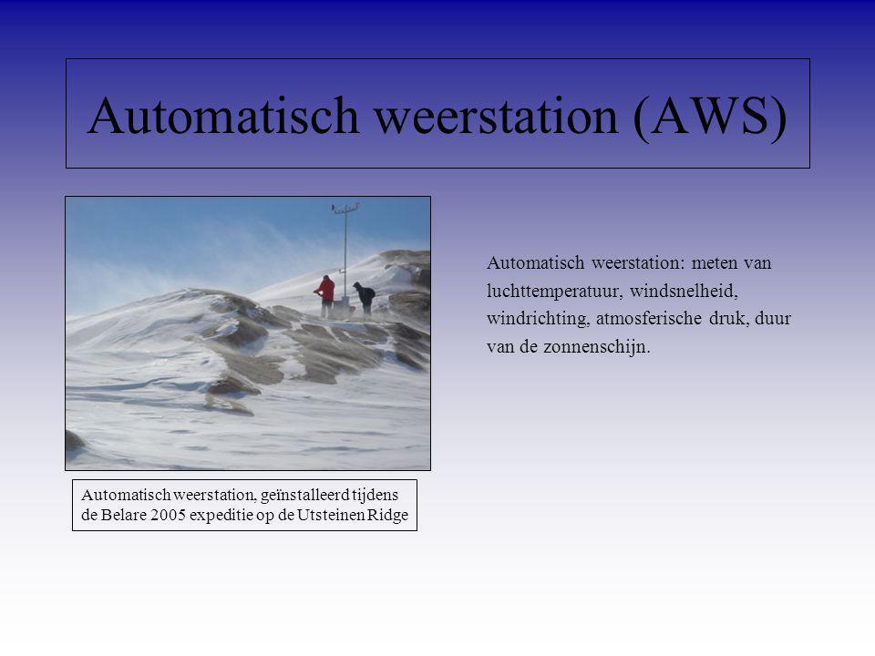 Automatisch weerstation (AWS)