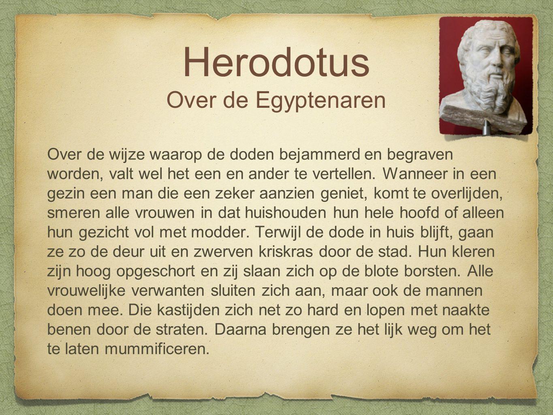 Herodotus Over de Egyptenaren
