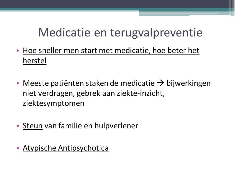Medicatie en terugvalpreventie