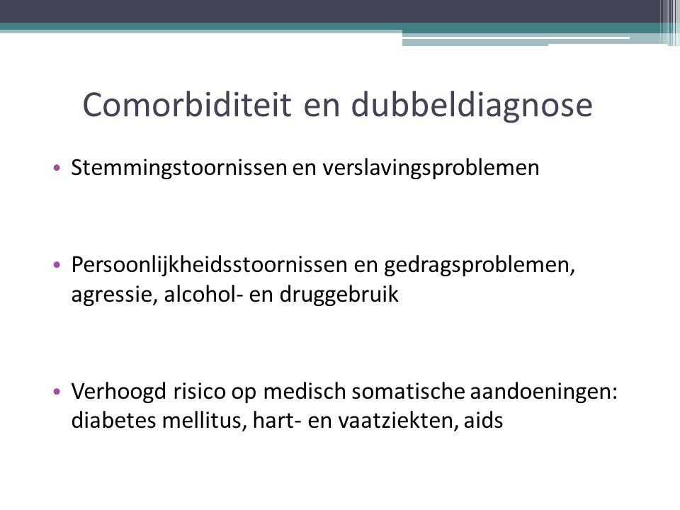 Comorbiditeit en dubbeldiagnose