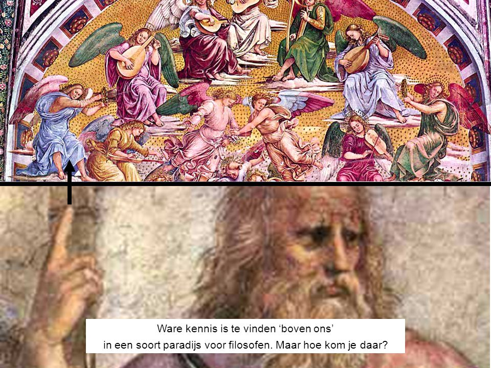 IDEEËNWERELD Ware kennis is te vinden 'boven ons'