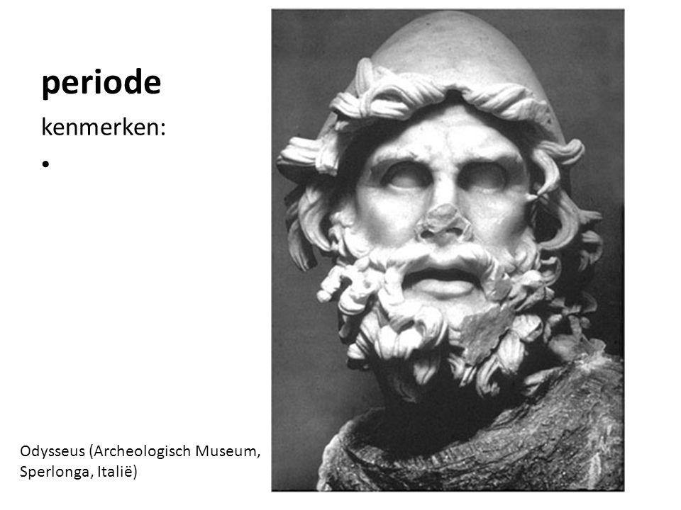 periode kenmerken: Odysseus (Archeologisch Museum, Sperlonga, Italië)