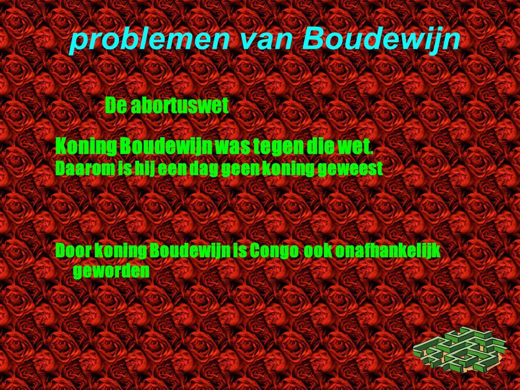 problemen van Boudewijn