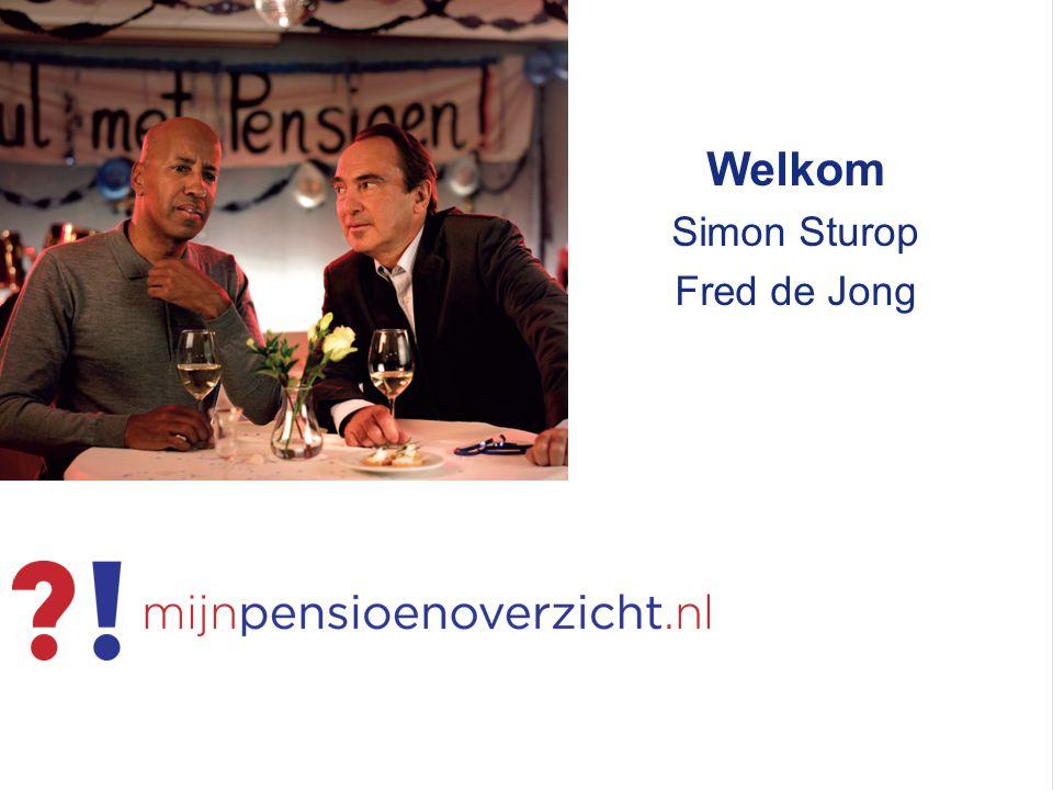 Welkom Simon Sturop Fred de Jong
