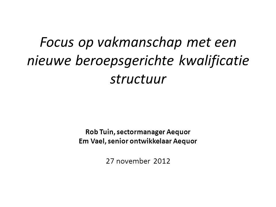 Rob Tuin, sectormanager Aequor Em Vael, senior ontwikkelaar Aequor