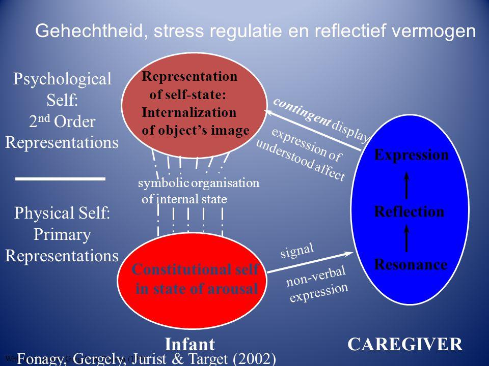 Gehechtheid, stress regulatie en reflectief vermogen
