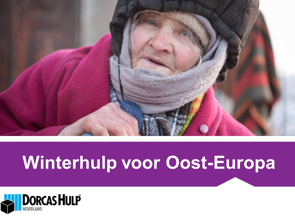 Winterhulp voor Oost-Europa