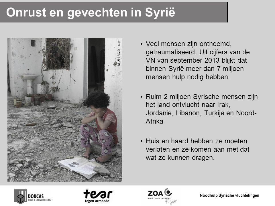 Onrust en gevechten in Syrië