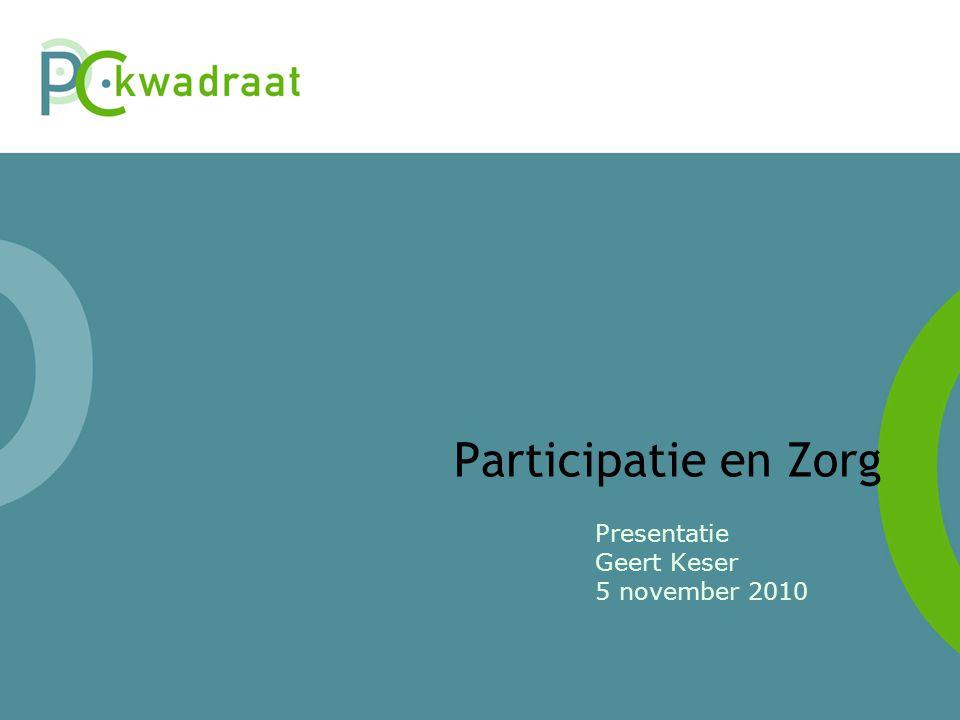 Presentatie Geert Keser 5 november 2010