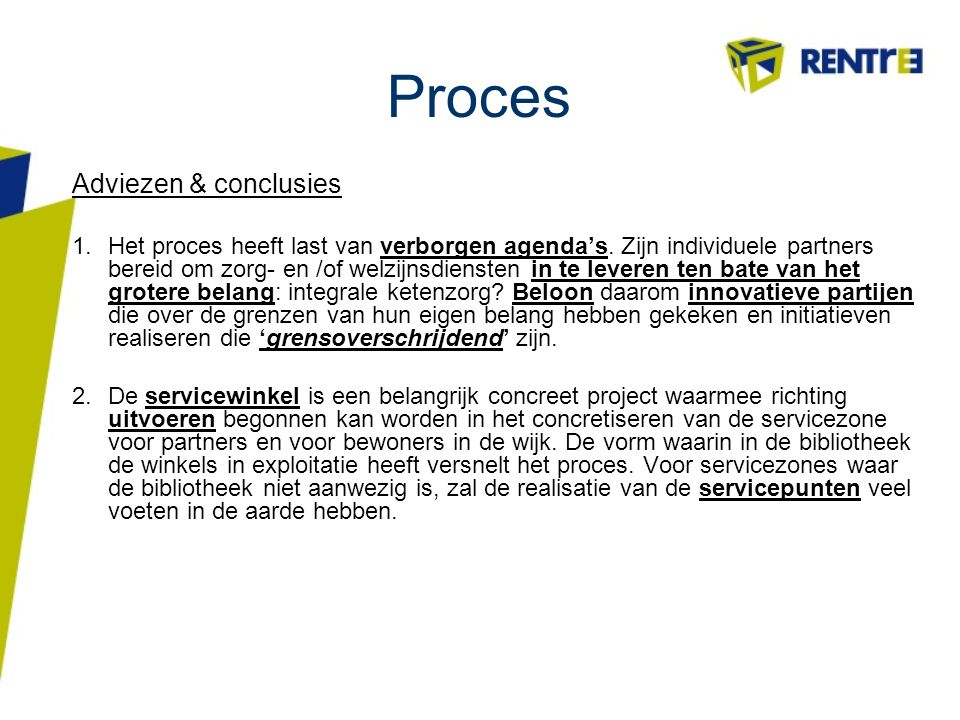 Proces Adviezen & conclusies