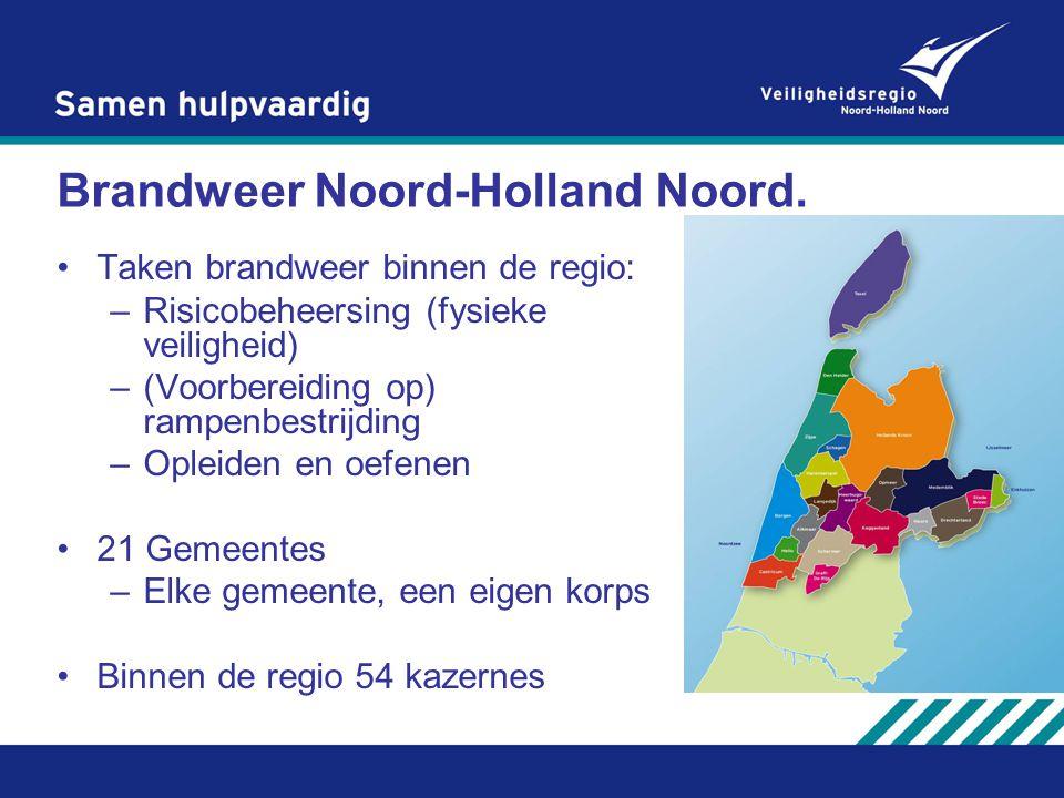 Brandweer Noord-Holland Noord.