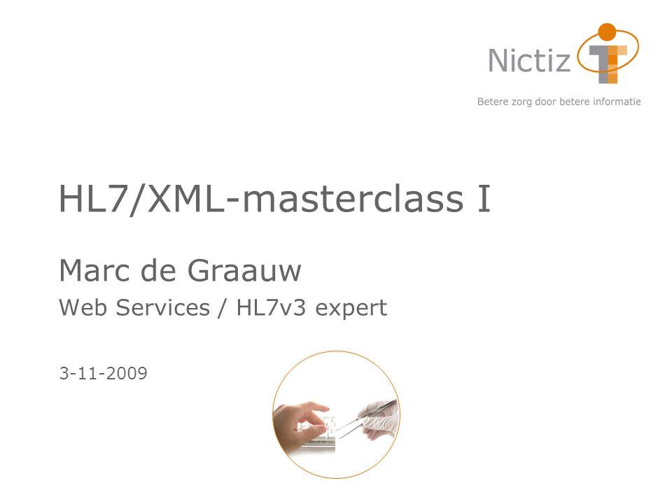 Marc de Graauw Web Services / HL7v3 expert
