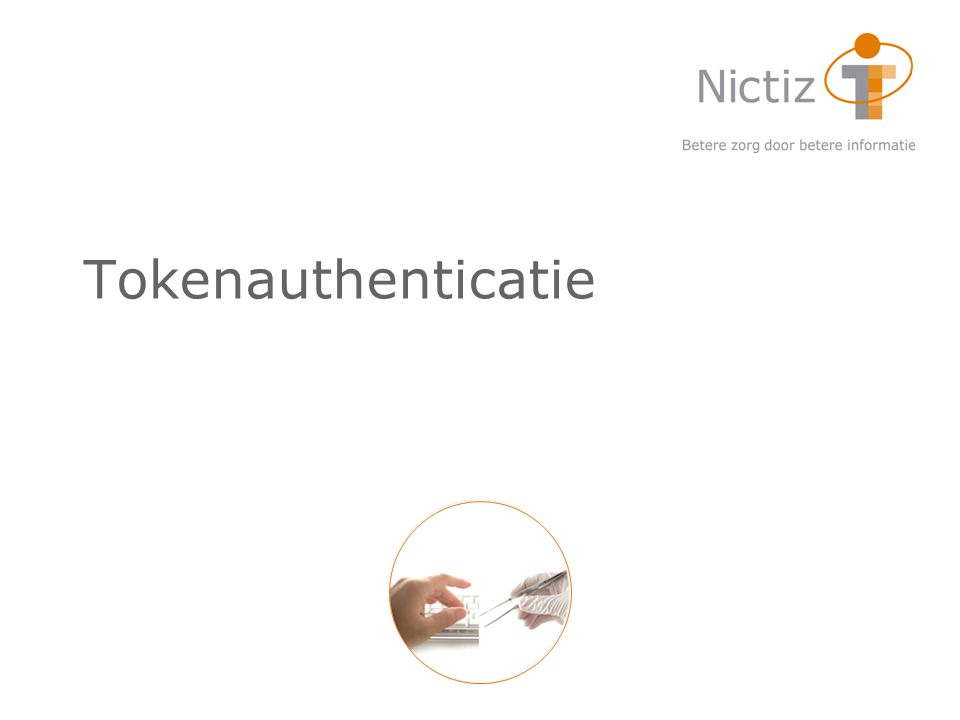 Tokenauthenticatie