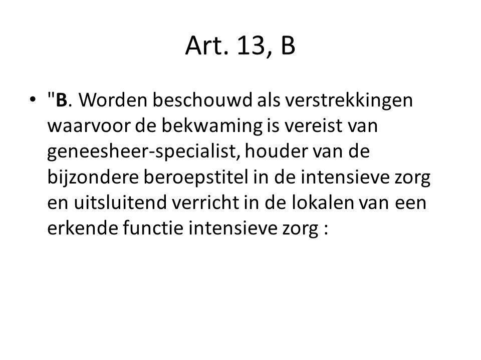 Art. 13, B