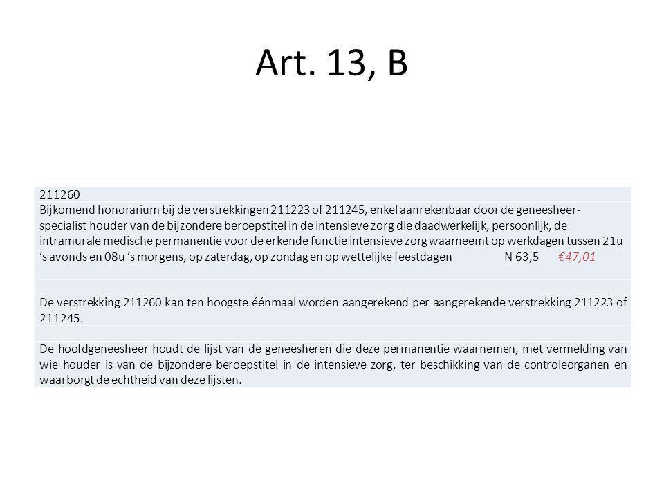 Art. 13, B 211260.