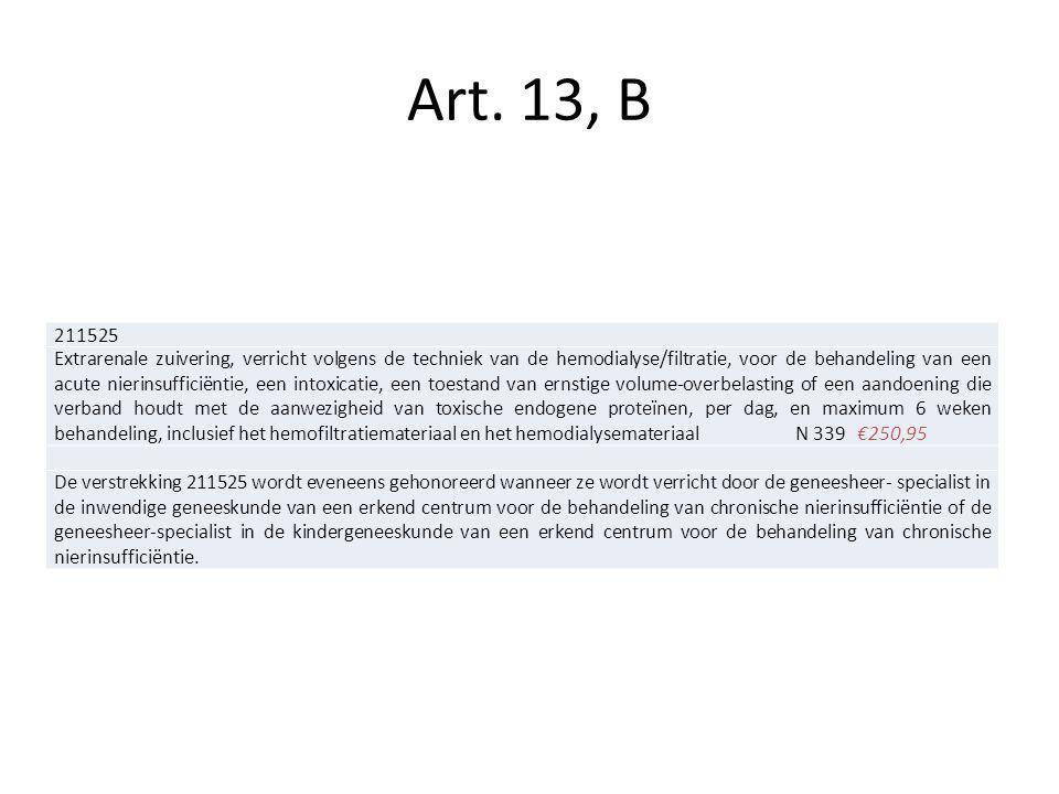 Art. 13, B 211525.