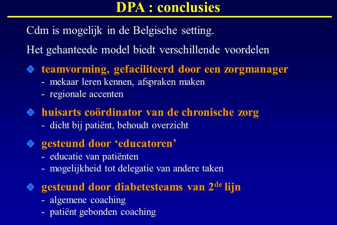 DPA : conclusies Cdm is mogelijk in de Belgische setting.