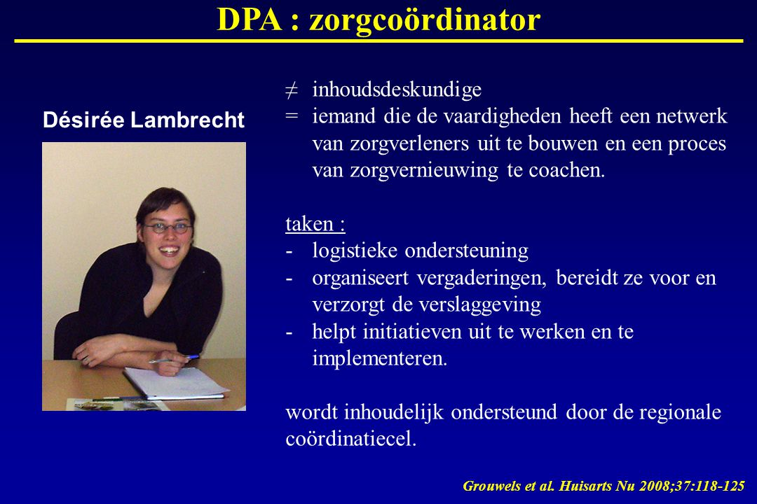 DPA : zorgcoördinator ≠ inhoudsdeskundige