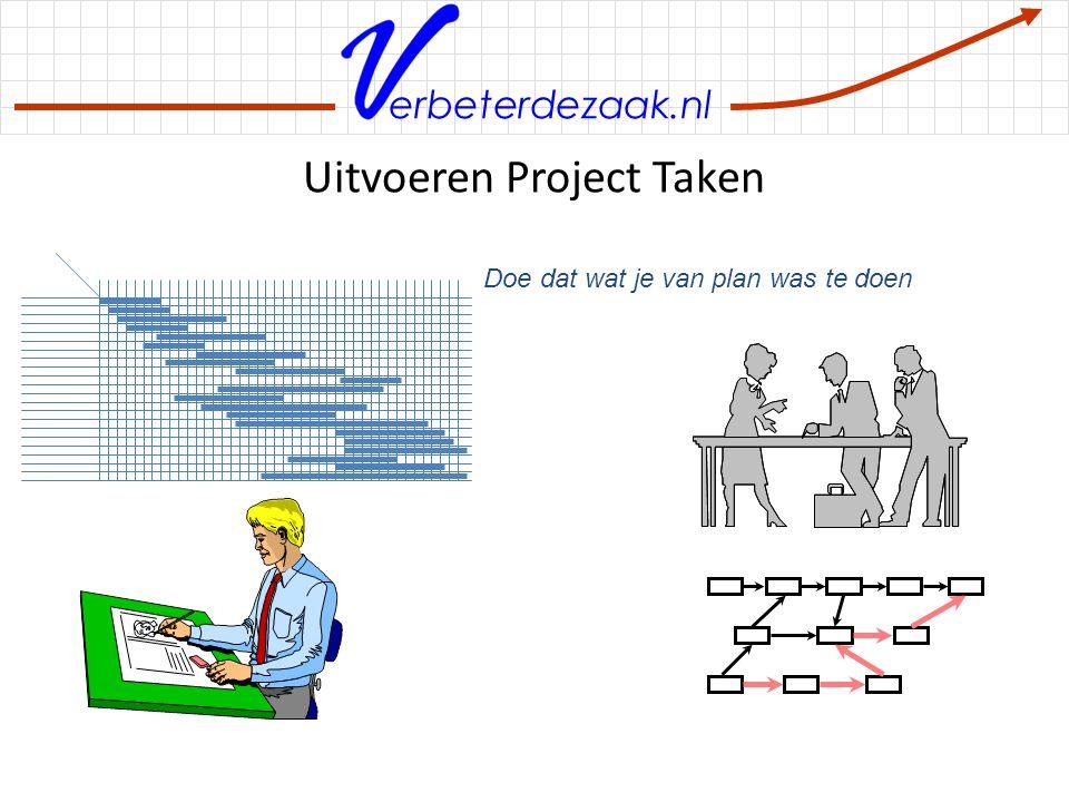 Uitvoeren Project Taken