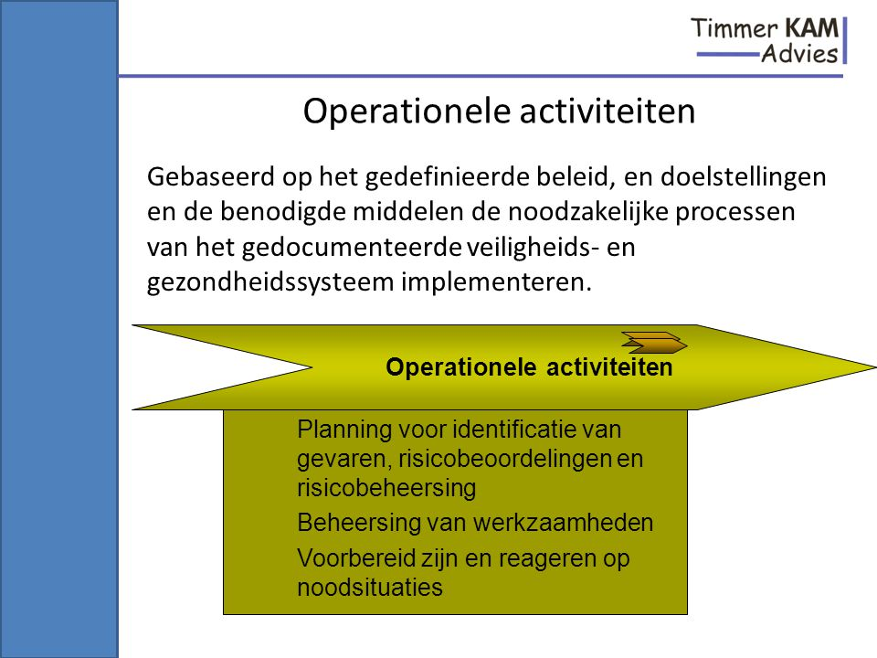 Operationele activiteiten
