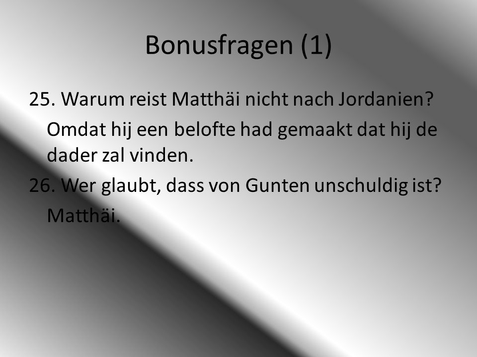 Bonusfragen (1)