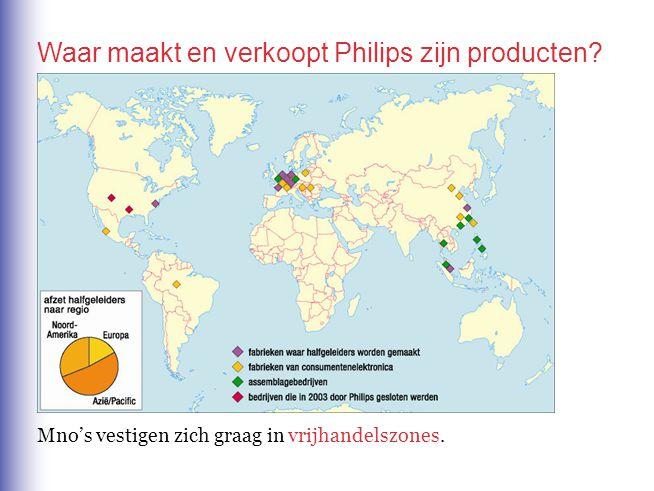 Waar maakt en verkoopt Philips zijn producten