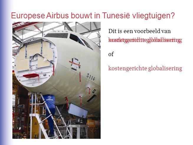 Europese Airbus bouwt in Tunesië vliegtuigen