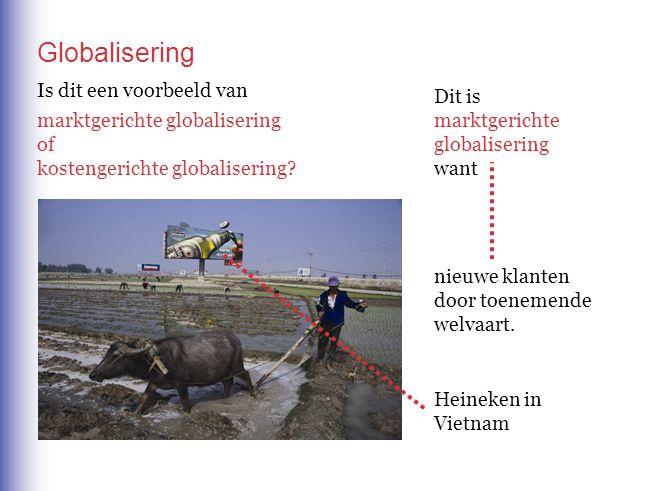 Globalisering Is dit een voorbeeld van