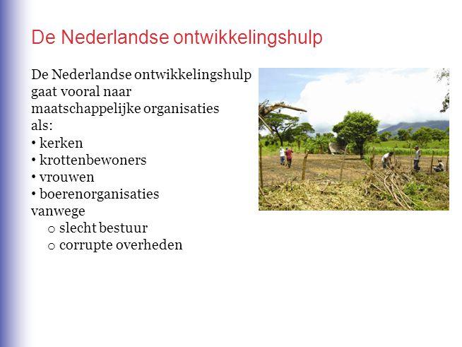 De Nederlandse ontwikkelingshulp
