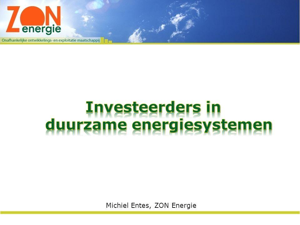 Investeerders in duurzame energiesystemen