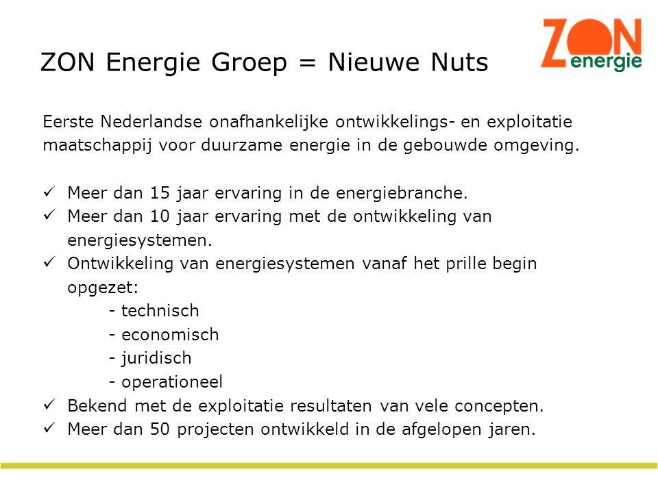 ZON Energie Groep = Nieuwe Nuts