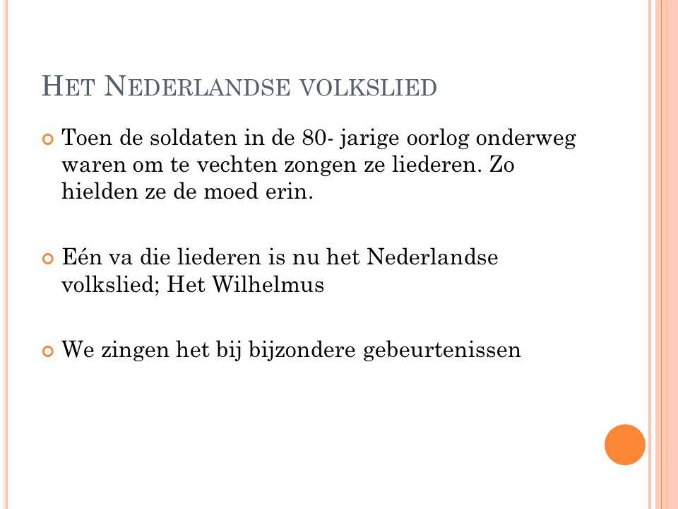 Het Nederlandse volkslied