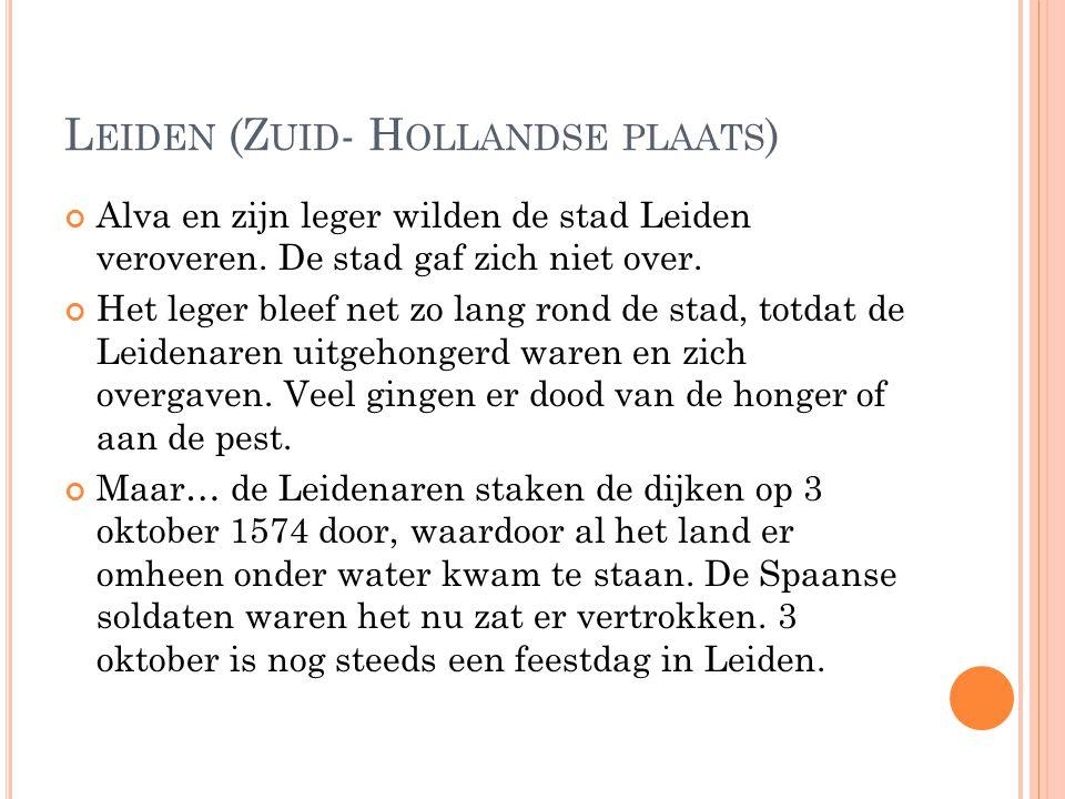 Leiden (Zuid- Hollandse plaats)