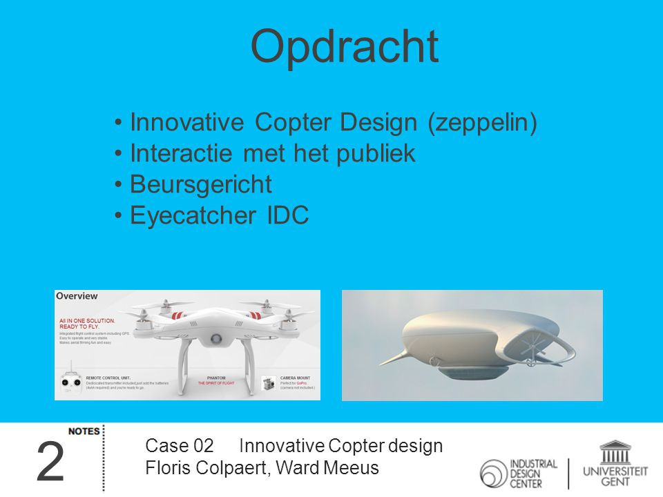 2 Opdracht Innovative Copter Design (zeppelin)