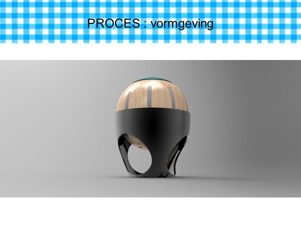 PROCES : vormgeving
